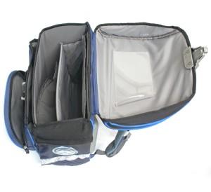 Školní batoh - vnitřní uspořádání